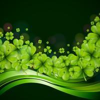 St. Patrick's Day Hintergrund Design vektor