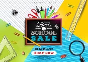 Tillbaka till skolans försäljning design