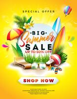 Sommarförsäljning Design vektor