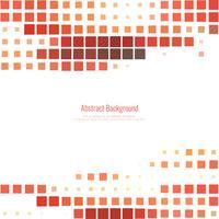 Abstrakt röd mosaik bakgrund vektor