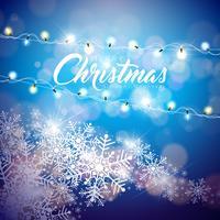 Frohe Weihnachten Illustration vektor