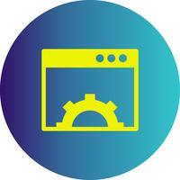 """Vektor-Browser-Symbol """"Einstellung"""""""