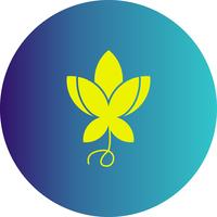 vektor blomma ikon
