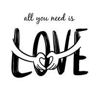 Alles was du brauchst ist Liebe