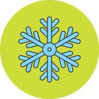 Vektor Schneeflockensymbol