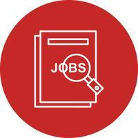 Vektor-Jobs-Symbol vektor