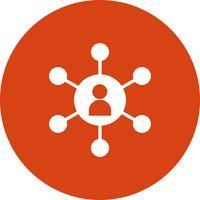 Vektor-SEO-Benutzer-Symbol