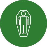 Vektor-Mumie-Symbol vektor