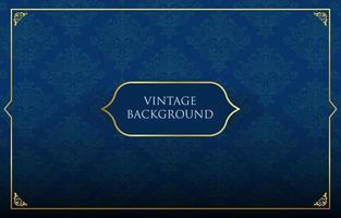 Vintage dekorative Hintergrundvorlage vektor