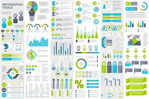 Infografiska element data visualisering vektor design mall