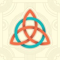 Triquetra Abbildung vektor