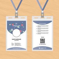 ID-Karten-Vorlagen-Design 10 vektor