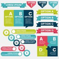 Infographics Design Mall Vector