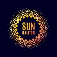 Affisch sol. Raster