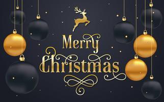 Weihnachtshintergrund-Vektorhintergrund vektor
