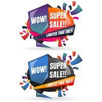 Försäljning Banner Design Mall