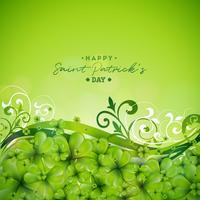 St. Patrick's Day Hintergrund Design