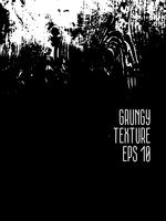 Grunge svart och vit Distress Texture. vektor