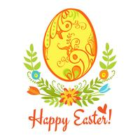 Glad påsk vektor