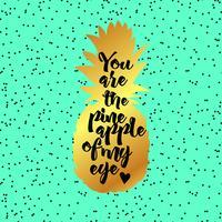 Du är anan av My Eye Poster. vektor