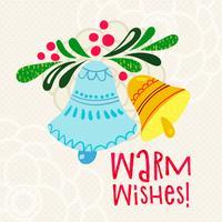 Julhälsningar Varma önskningar