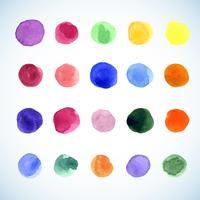 abstrakt vattenfärg bakgrund vektor