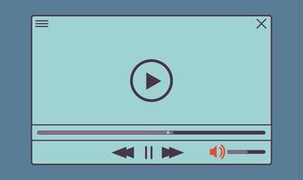 Platt videospelare för webb- och mobilappar