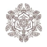 Schöne dekorative Pfingstrosenblume. Alte Tätowierung