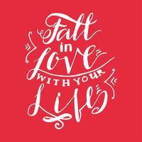 Falla i kärleken med ditt liv