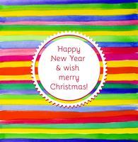 Weihnachten oder Neujahr vektor
