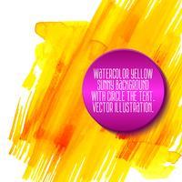 gelber abstrakter Aquarellhintergrund