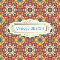 Antik, vintage bakgrund azulejos i portugisiska plattor stil. vektor