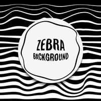 Gestreifter Hintergrundfehler. Schwarz weiße Zebrahaut.