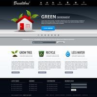Web Design Website Element Vorlage.