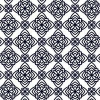 Quadratisches Musterfeld zum Laserschneiden mit Mandalas.