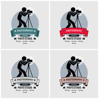 Fotograf Fotografie Studio Logo Design.