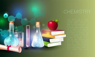 Utbildning och vetenskap begrepp illustration.