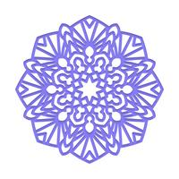 Mandala. Indisk bröllopsmeditation. vektor