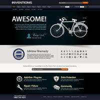 Web Design Website Element Vorlage.