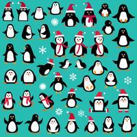 pingvin clipart vektor