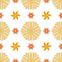 Orange lyx bakgrund art deco. vektor