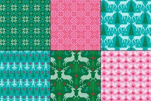 Broderade nordiska mönster