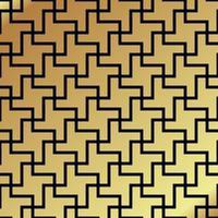 nahtloses Muster. Kreuz drehen
