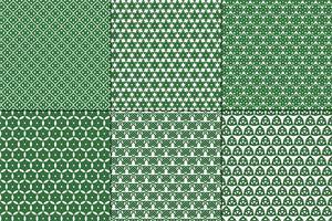 Celtic Knot Patterns på vit bakgrund