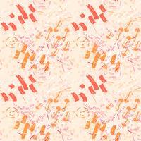 Memphis abstrakte nahtlose Muster vektor