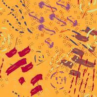 Safari mönster på randig bakgrund vektor