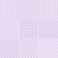 Lavendelspitze Muster