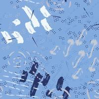 Serenity mönster på randig bakgrund vektor