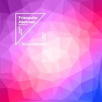 Dreieckiger polygonaler Hintergrund