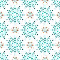 Snöflingor sömlöst mönster